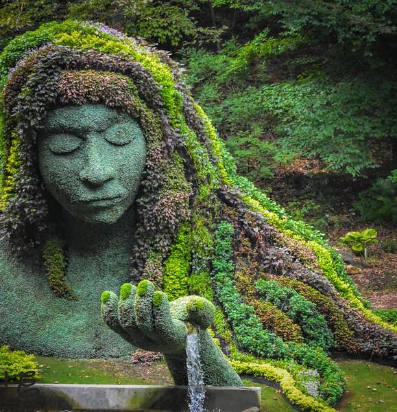 Earth Goddess - fall attire