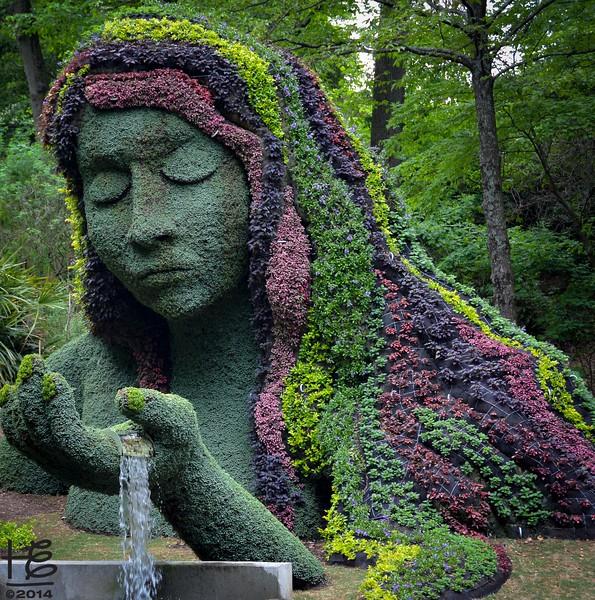 Earth Goddess - spring attire
