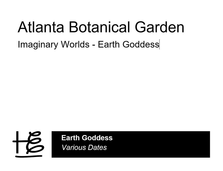 As the focal point of the Cascades Garden, the Earth Goddess is an iconic, permanent plant sculpture at the Atlanta Botanical Gardens. The Goddess debuted at the orignal Imaginary Worlds art exhibit created and installed by the the International Mosaiculture of Montreal® in 2013.