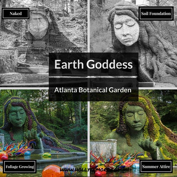 Earth Goddess collage