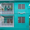 Turquoise home