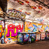 Leake Street, Waterloo, London UK