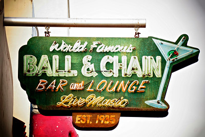 Ball and Chain Bar and Lounge, Little Havana, Miami FL 2016