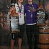 Womens Winner Dani Fischer and Mens Winner Michael Moore.