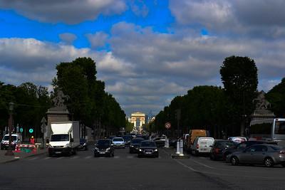 Paris - Arc de Triomphe - Champs-Élysées