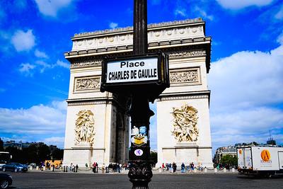 Arc de Triomphe at Charles de Gaulle