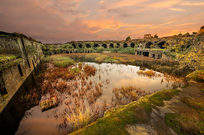 Cliffe Fort in Kent. by David Stoddart
