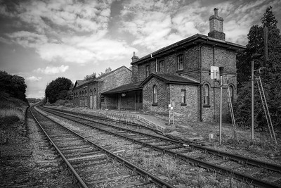 Little Bealings Railway Station, by David Stoddart