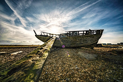 Walking the plank at Dungeness. By David Stoddart