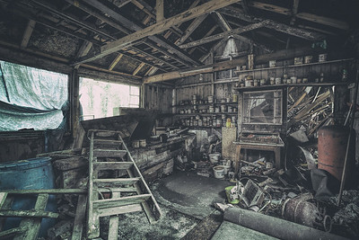 The Abandoned Workshop by David Stoddart