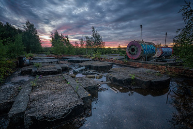 Derelict Sunrise by David Stoddart