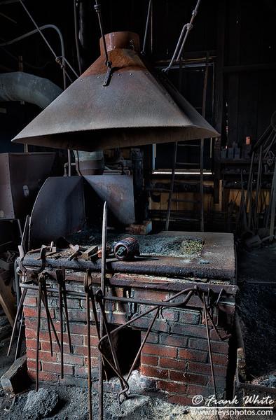 Abandoned forge