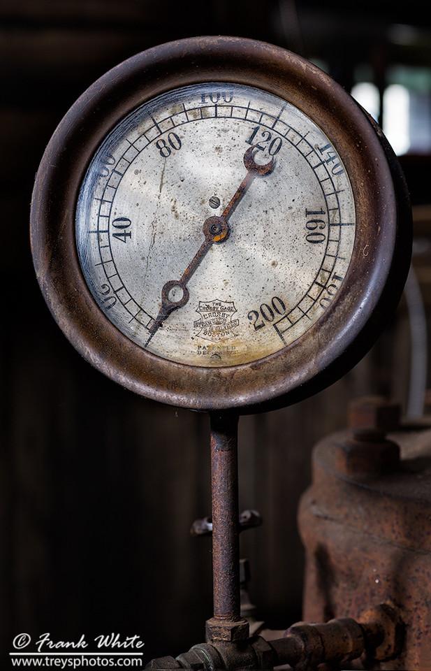 Low pressure...