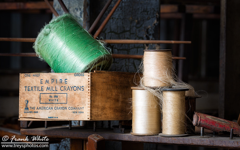 Spools of silk
