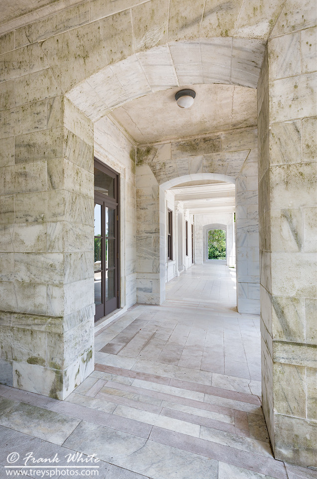 Marble porch