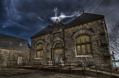 """""""1873 Fall River Water Works Pump-Station House"""""""
