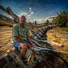 """Steve says 'Goodbye'""<br /> July 10th, 2012<br /> Ruins of Lincoln Park's Comet Roller Coaster"