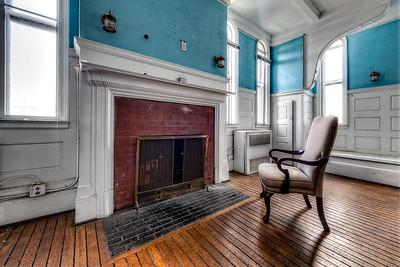 """Third Floor Fireplace"""