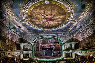 """""""The Stage"""" As seen from the 2nd floor seating"""