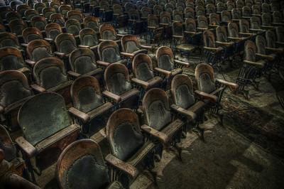 """Seats on floor level"""