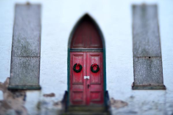 Abandoned Church, Douglasville, PA (detail)