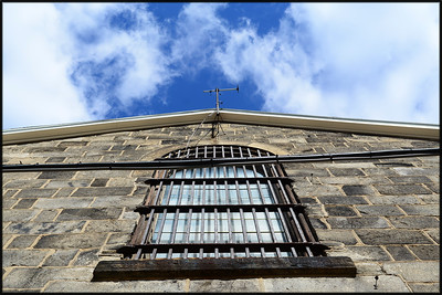 Blue Sky over the Cell Block
