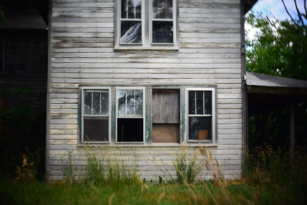 Abandoned Homes & Motel---near Gettysburg, PA