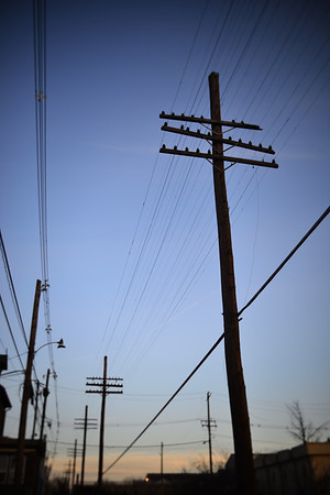 Telephone Poles---Pottstown, PA