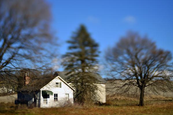 Abandoned House & Barn