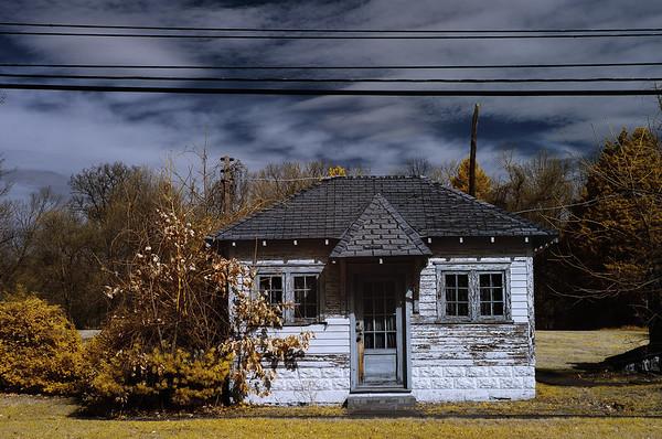 Roadside Cabin (Digital Infrared)