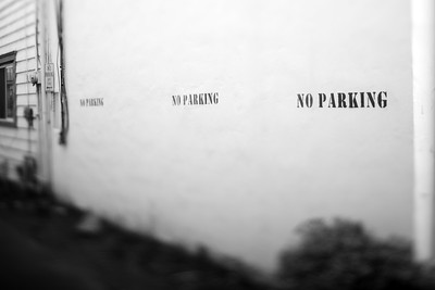 No Parking---Wilkes-Barre, PA