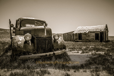 Bodie House and Truck