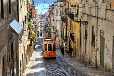 Portugal Trip, Lisbon, Oct. 2009 Street Car