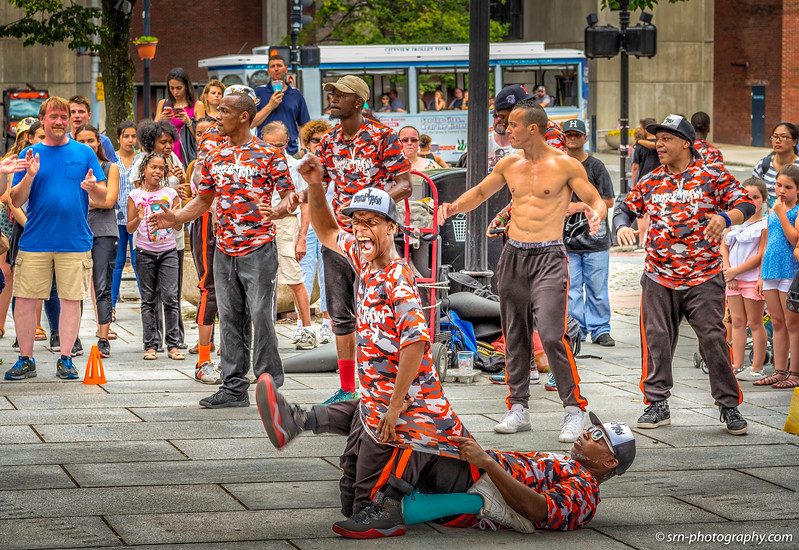 Boston Street Performers