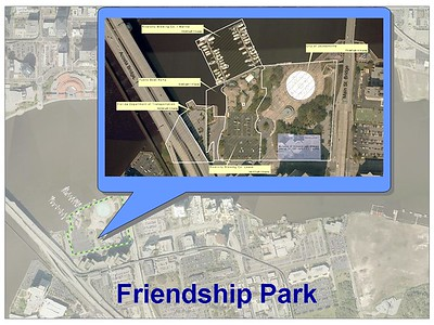 Friendship Park in Downtown Jacksonville, FL