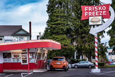 Frisko Freeze, Fine dining during the Covid of 2020.