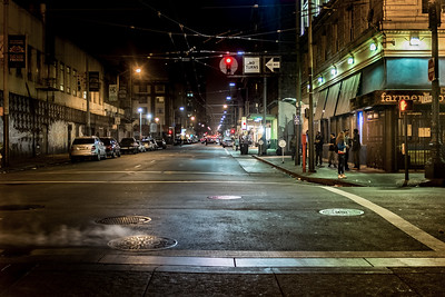 The Tenderloin District, San Francisco, California