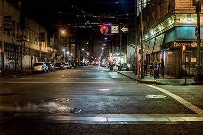 The Tenderloin District, San Francisco, California