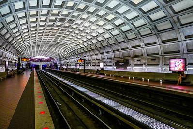 Washington DC, the Metro at DuPont Circle