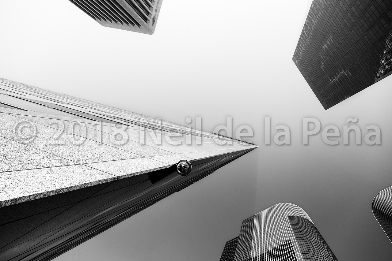 Downtown LA II, Looking Up and Other Stuff