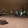 Adler Sundial at Night