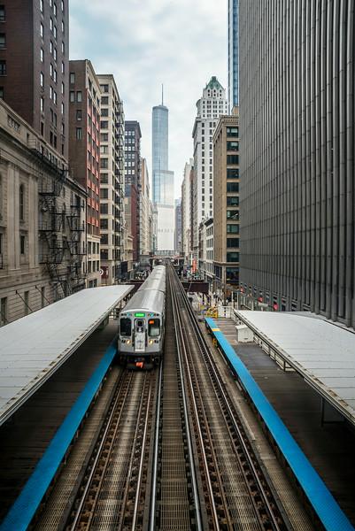 Wabash Avenue Elevated Tracks