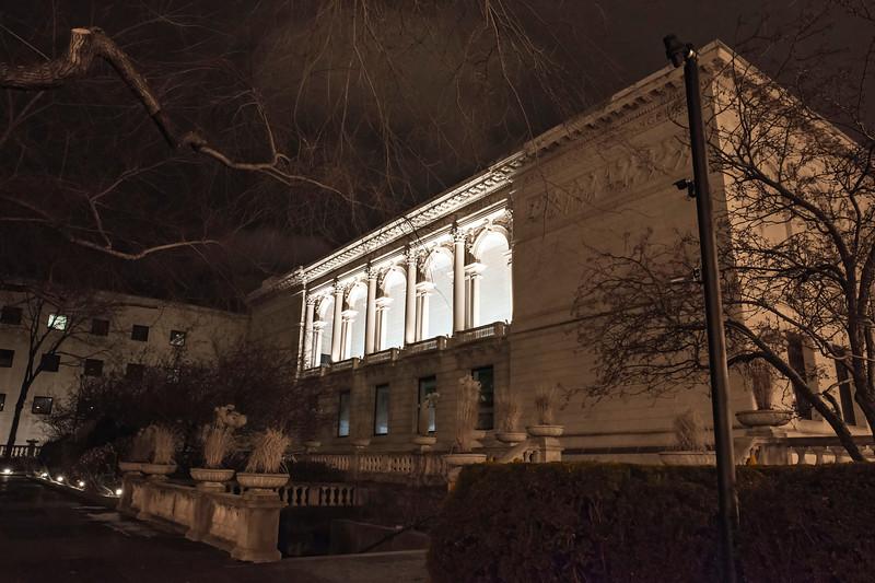 North Facade, Art Institute of Chicago