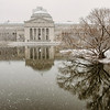 Museum in a Snowfall