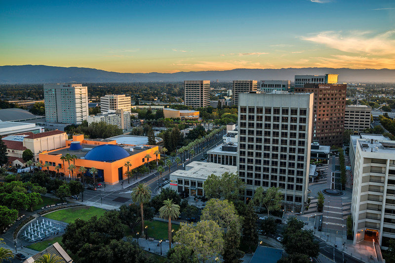 Downtown San Jose, California