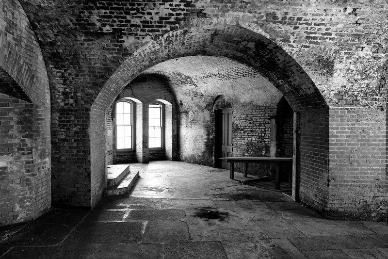 Room of Arches, Fort Point