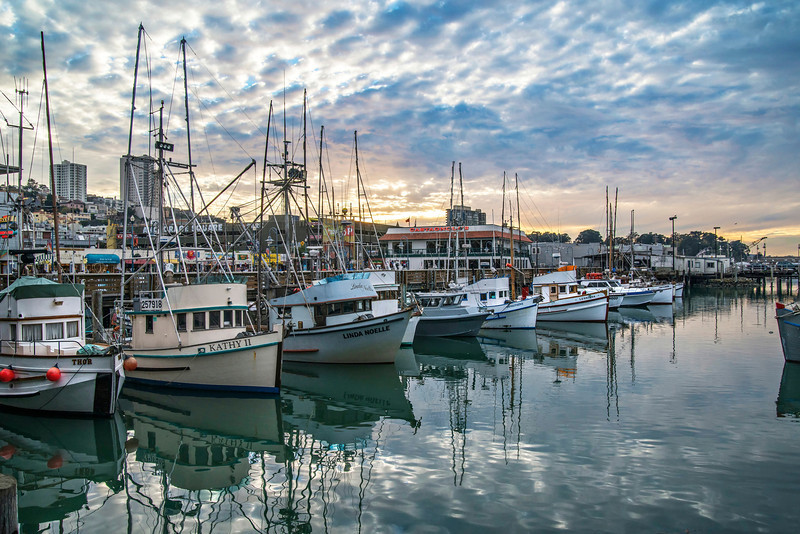 Fisherman's Wharf Sunset (II)