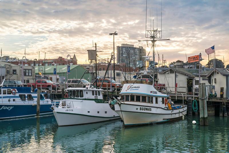 Fisherman's Wharf Sunset (I)