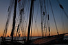CHI 017                         <br /> Sunrise at Navy Pier with the Tall Ships in town, Chicago lakefront.