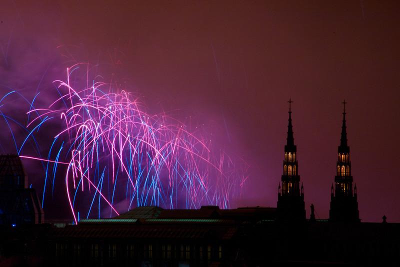 Winterlude Fireworks